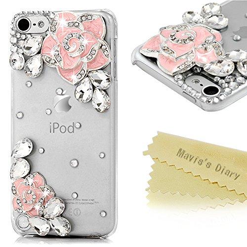 ipod-touch-5-5th-generation-case-cover-maviss-diary-3d-handmade-bling-crystal-shiny-sparkle-rhinesto