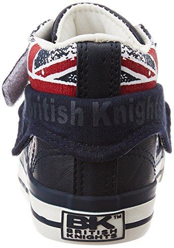 British Knights Roco, Baskets Marche Mixte Bébé Bleu (navy/union Jack)