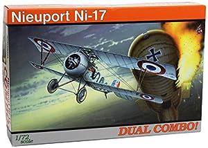 Eduard Plastic Kits 7071 - Maqueta de avión Nieuport Ni-17 Dual Combo importado de Alemania