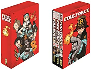 Fire Force Coffret Tomes 1 à 3