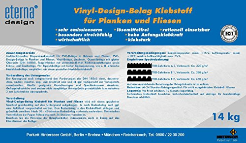eterna Vinyl Design Belag Klebstoff 14kg / 4,59 EUR/kg