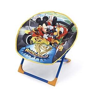 ARDITEX-Mickey Mouse Silla Plegable Luna, wd11620u
