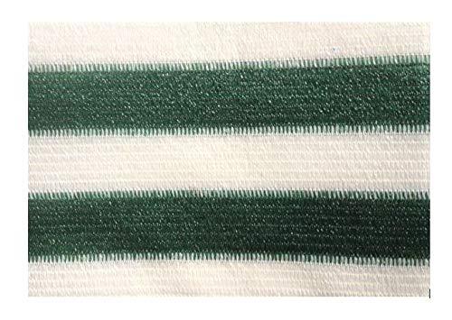 AGROFLOR filet brise vue pour le balcon ou la terrasse, avec bords renforcés et etœillets toutes les 50 cm, 100% résistant aux UV, couleur: vert/blanc, Taille: 0,90 x 25 m