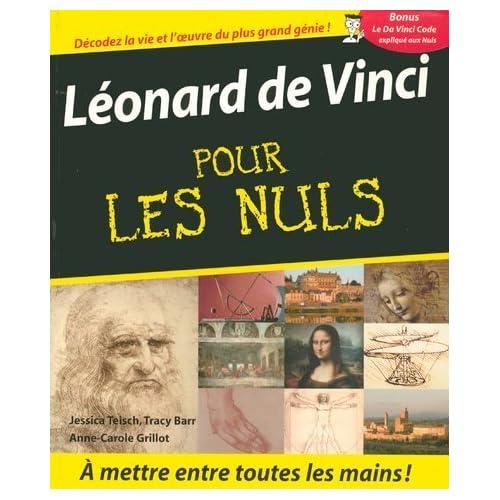 LEONARD DE VINCI POUR LES NULS