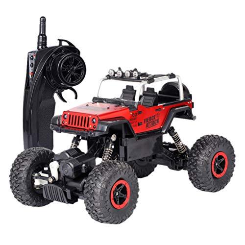 Happy event Auto telecomandata Elettrica ad alta velocità Off-Road RC camion regalo per bambini 1:18, Rosso