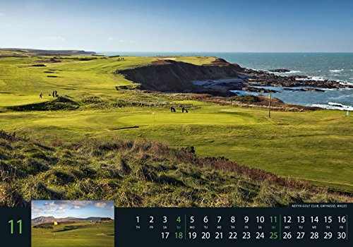 Golf 2018 - Sportkalender / Golfkalender international (49 x 34) - 13