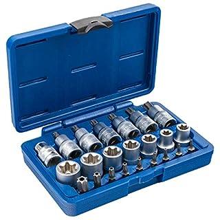 Satz TX SET-23 Torx Steckschlüssel 23 teilig Antrieb 12,5mm (1/2