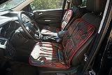 2 Stück ECHT LEDER Universal Sitzbezug Sitzauflage Schonbezug farbig super bequem