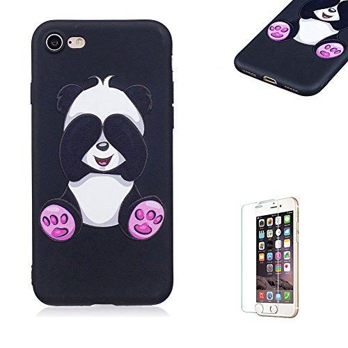 Funyye-Silicone-Morbida-Custodia-per-iPhone-7Carino-Pattern-Liscio-Copertura-Morbido-Sottile-Leggero-Perfetta-Soft-TPU-Gel-Silicone-Shell-per-iPhone-8Gomma-Bumper-Custodia-Slim-Skin-Protezione-Sottile
