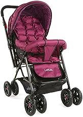 Luvlap Blossom Baby Stroller (Purple)
