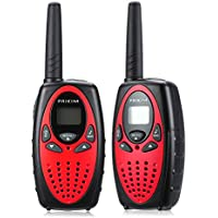 PRIKIM Walkie Talkies for Kids 8 Channel with PPT/VOX 2 Way Radio 3 KM Long Range and Clear Sound (1 Pair)