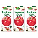 #5: Tropicana Apple 100% Juice 1L (Pack of 3)