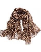 Nouveau léopard pashmina style écharpe sexy foulard des femmes