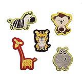 stickerfactory Set050 Tiere im Zoo