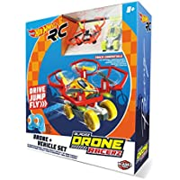 Hot Wheels Car and Drone, Red (Mondo Spa 63568) - Compare prices on radiocontrollers.eu
