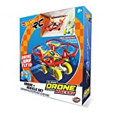Hot Wheels-63568 Coche y Dron, Color