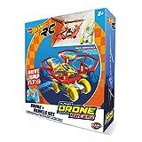 Hot Wheels-63568 Coche y Dron, Color