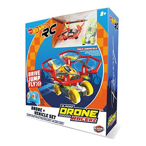 Mondo-63568 Hot Wheels Veicolo/Drone Radiocomandato, Colore Giallo/Rosso, 63568 preisvergleich