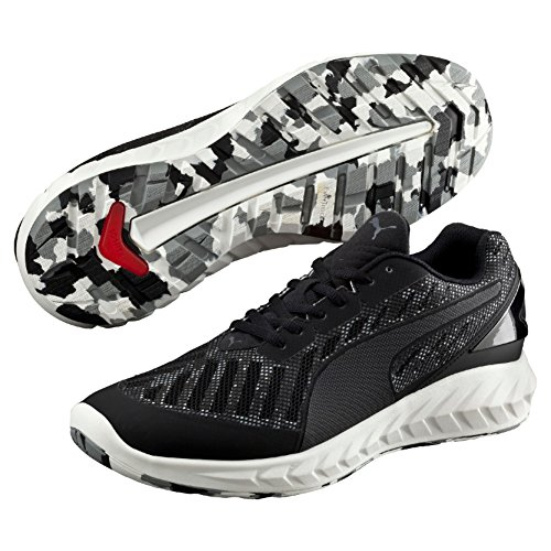 Puma Ignite Ultimate Cam, Scarpa da Running Man (Race), Nero/Periscope/Quarry, 8.5 EU