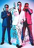 Depeche Mode Signiert Autogramme 21cm x 29.7cm Plakat Foto