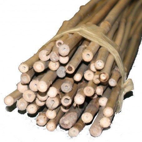 TerraGala 10er Pack Bambus-Stäbe 90cm, Ø 9-12mm