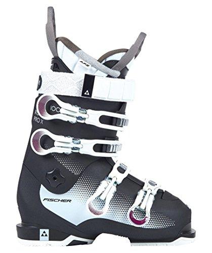 Fischer Damen Skischuhe RC Pro W 100X Schwarz/Weiss (910) 25,5