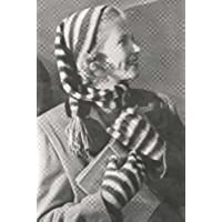 Striped Stocking Cap Hat Tam Beanie & Gloves Knit Knitting Pattern (English Edition)