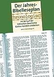Der Jahres Bibelleseplan chronologisch: Im Verlauf der biblischen Geschichte Gottes handeln erkennen