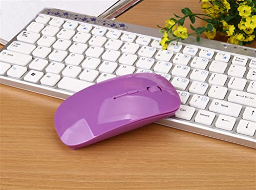 yy-a-thin-section-of-wireless-photoelectric-24g-wireless-mouse-keyboard-purple