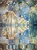 Alu Dibond 90 x 120 cm: Traumwelt Pusteblume von Julia Delgado
