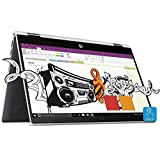 HP Pavilion x360 14-cd0076tu 2018 14-inch Laptop (8th gen i3-8130U/4GB/1TB/Win 10/MS Offfice/Integrated Graphics), Natural Silver