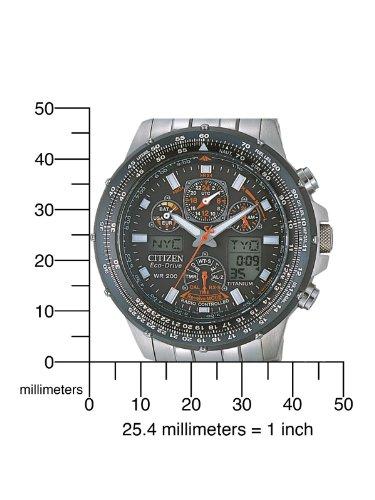 Citizen Herren-Armbanduhr Promaster Super Skyhawk Chronograph Quarz JY0080-62E -