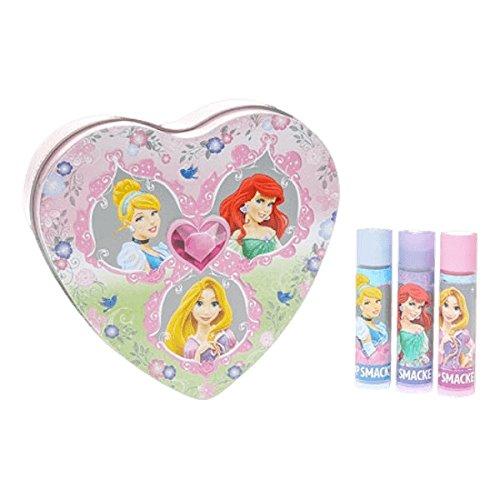 Lip Smacker Coffret 3 Baume à Lèvres Disney Princesse