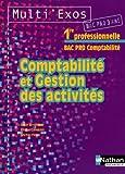 Image de Comptabilité et gestion des activités 1e Bac pro comptabilité 3 ans