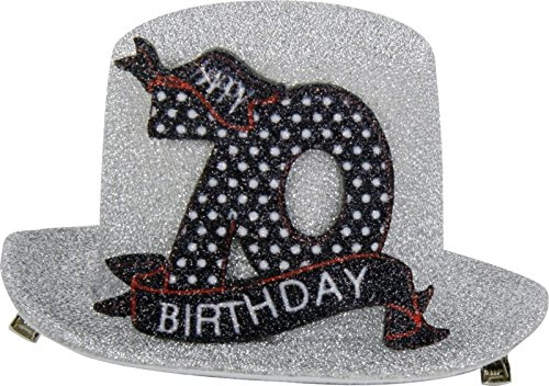 1STK. Sombrero fiesta cumpleaños 70años Fiesta