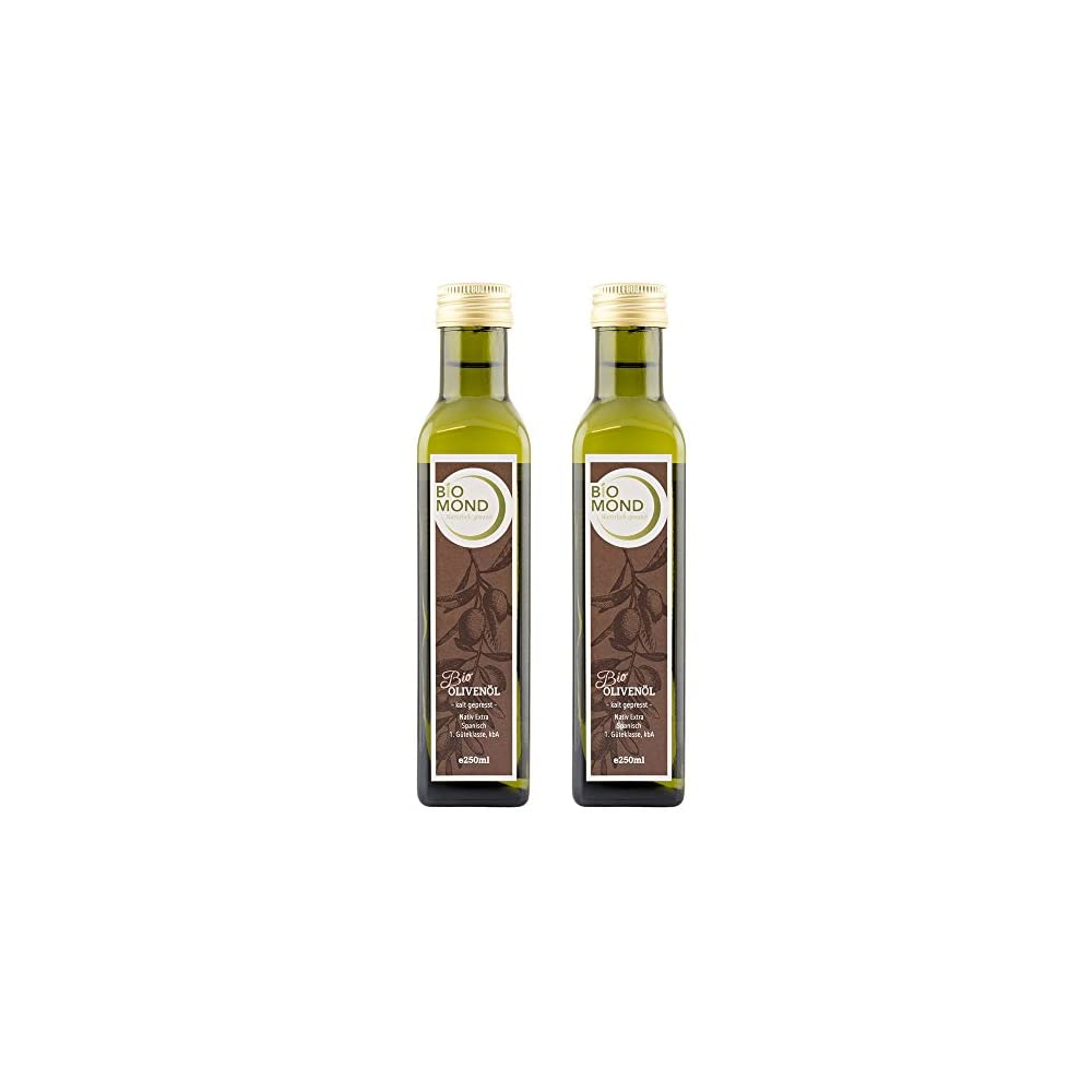 Bio Olivenl Von Biomond 2 X 250 Ml Spar Set Extra Nativ Hochwertiges Gourmetl Frisch Gepresst