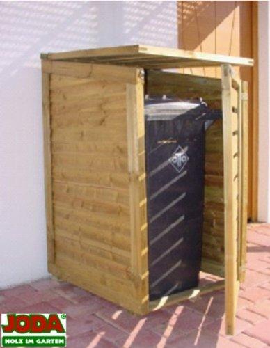 JODA-Anbaumodul-fr-Mlltonnenbox-UNO-65x63x110115-cm-Mllbox-Mlltonne-NEU