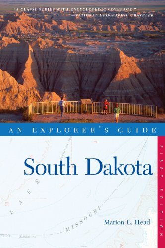 Explorer's Guide South Dakota (Explorer's Complete Book 0) (English Edition)