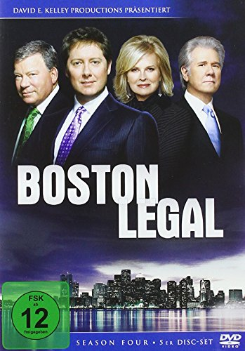 Boston Legal - Staffel 4 (5 DVDs)