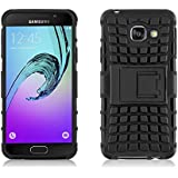 Coque Galaxy A3 (2016) 310 Coque incassable | JammyLizard | Coque incassable back cover rigide anti choc renforcée Alligator Samsung Galaxy A3 (2016) A310, noir
