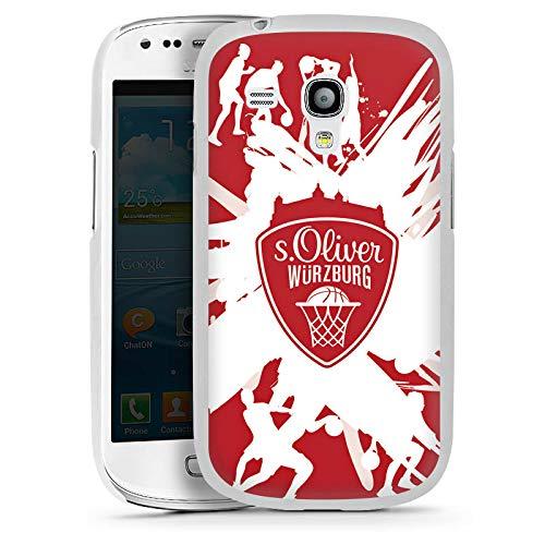 DeinDesign Hülle kompatibel mit Samsung Galaxy S3 Mini Handyhülle Case s. Oliver Würzburg Basketball Sportverein (S3 Mini Samsung Case Basketball)