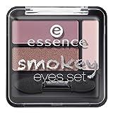 Essence Smokey Eyes Set Nr. 03 smokey rose Inhalt: 3,9g Lidschatten für Smokey Eyes - Effekt.