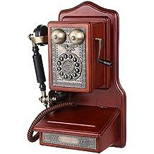 xie Europea antiguo montado en la pared/de teléfono fijo Vintage all-wood fuselaje avión (1907)