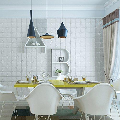 Zegeey 3D Brick Wall Sticker Selbstklebende Schaum Tapete Panels Zimmer Abziehbild - Viktorianischen Sofa