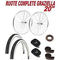 COPPIA RUOTE bicicletta GRAZIELLA 20