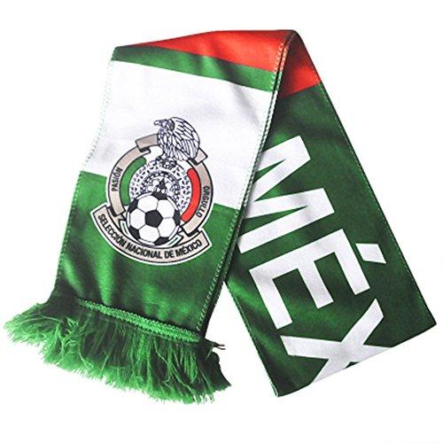 Mexiko Schal (Baifeng 2018World Cup Fans Schals Schal Fußball Schals, unisex, Mexiko)