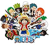 Top Stickers !  Lot de 48 Stickers One Piece - Autocollant HD Vinyles Non Vulgaires -...