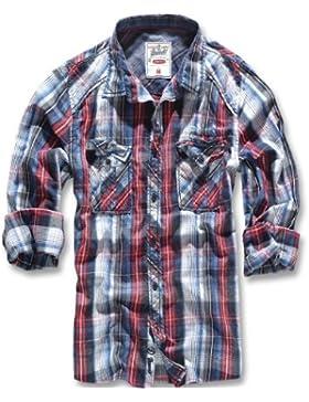 Brandit Central City Check Shirt Vintage Hemd (bis 5XL)