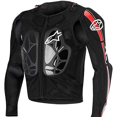 Alpinestars Bionic Pro Jacket 2016, color negro/rojo/blanco