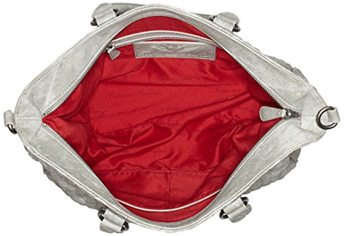 Fritzi aus Preußen Damen Aina Business Tasche, 15 x 29 x 45 cm Grau (Metal)
